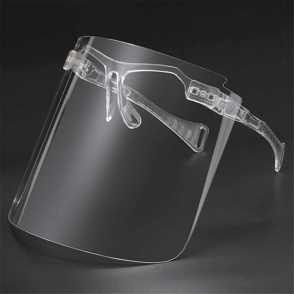 CHAW Visiere Unisex Occhiali Protettivi Occhiali Occhiali da Equitazione Occhiali Riutilizzabili Anti-Espettorato Starnuto E Pannelli di Protezione dagli Schizzi Dolio