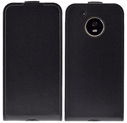 Favory Flip-Style Tasche für Motorola Moto X4 Hülle Schutzhülle Hülle in schwarz