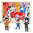 TOP BRIGHT 24 Piece Puzzles for Kids Ages 3-5 - Fi... #3