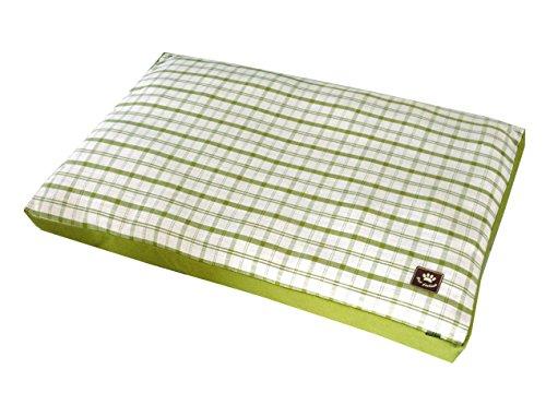Vadigran Matelas pour Chien Style Checker Vert 75 x 55 x 10 cm