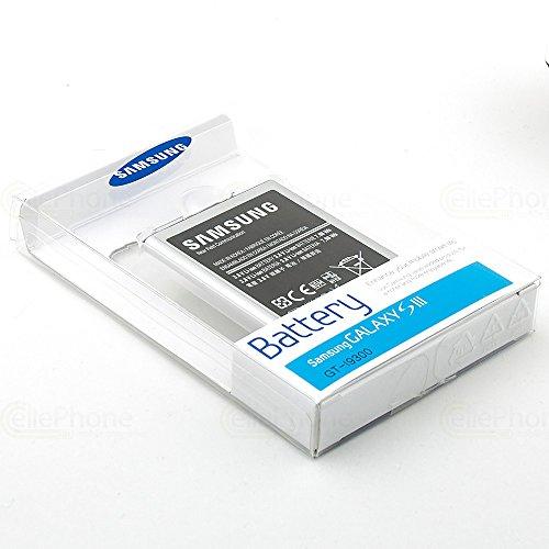 Samsung - Batería Original de Ion de Litio eb-l1g6llucstd Galaxy s3 - Blister-