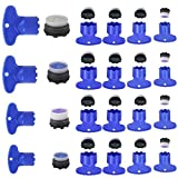 ManLee 20 Set Faucet Aerator Key Replacement Insert Cache Aerators Water Saving Flow Restrictor for Sink M16.5 18.5 21.5 24 Tap Aerators