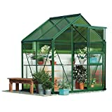 Garden Grow 6 x 4ft Polycarbonate Greenhouse