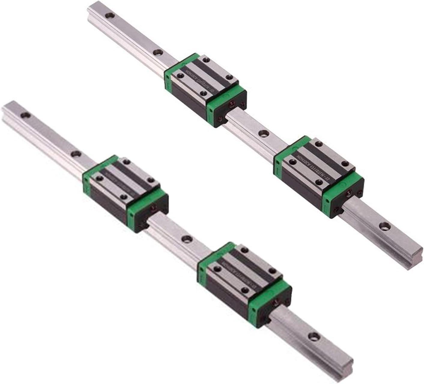 LIUXB-X 2PCS HGR20 Max 52% OFF HGR15 Square SEAL limited product Guide Slide Linear Bea Rail+4PCS