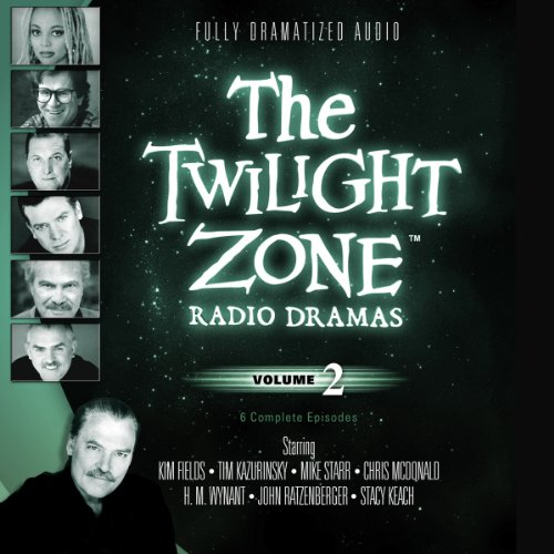 The Twilight Zone Radio Dramas, Volume 2 audiobook cover art