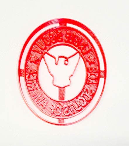 EAGLE SCOUT RANK ACHIEVEMENT BOY SCOUTS BSA SPECIAL OCCASION COOKIE CUTTER BAKING TOOL 3D PRINTED product image