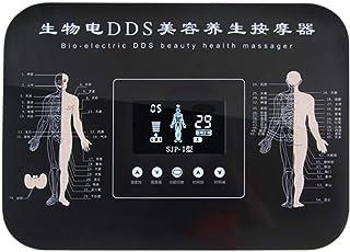 Multifuncional TENS DDS Electroestimulador Estimulador Muscular Masajeador Electro Masajeador Corporal Alivio del dolor Meridiano Máquina de Fisioterapia Muscular de Relajación SPA Belleza Dispositivo