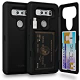 TORU CX PRO LG V30 Wallet Case with Hidden ID Slot Credit