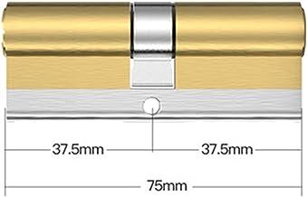 Euro cilinderslot 10 Sleutels Lock Vervanging C Grade Security Toegangsdeurslot Cilinderknop Cilinder Uitdrijving Dubbele ...