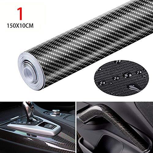 chen sen lin1 Hohe Helligkeit 5d Carbonfaser-Farbfilm-glatter 6d Auto-Carbonfaser-Aufkleber-Innenfolien-Autoaufkleber
