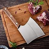 MIXILIN Bone Knife, Bone Cleaver Knife Heavy Duty Meat Cleaver High...