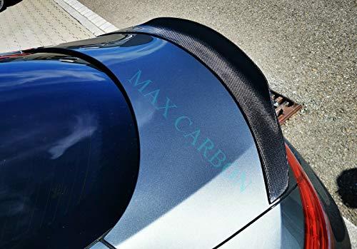 MAX CARBON Karbon gfk Heck Spoiler Spoiler Abrisskante passend für C205 C-Klasse AMG C63 C43 C63S C300 C250 C400 Coupe Big P Style