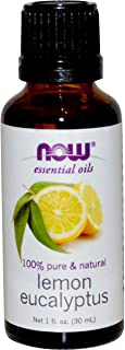 Now Foods Essential Oils Lemon Eucalyptus 1 fl oz (30 ml)