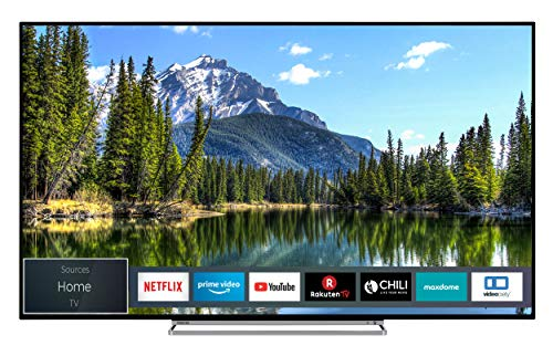 Toshiba 55VL5A63DG 139 cm (55 inch) televisie (4K Ultra HD, Dolby Vision HDR, TRU Picture Engine, Triple Tuner, Smart TV, geluid van Onkyo, Works with Alexa)