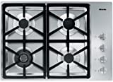 Miele : KM3464G 30 Stainless Steel Gas Cooktop