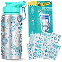 Beewarm Decorate & Personalize Your Own Water Bottles with Tons of Rhinestone Glitter Gem Stickers