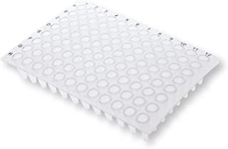 0.2ml 96-Well Non-Skirted PCR Plate, Ultra Thin Wall, Natural, 25 Plates/Unit