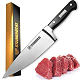 STEINBRÜCKE Chef Knife 6 inch - Pro Kitchen Knife Forged from German Stainless Steel 8Cr15Mov...