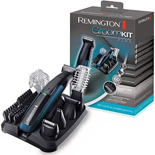 Remington PG6150 GroomKit Plus Rifinitore, battery-powered, blu