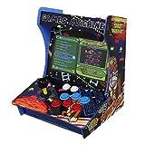 MonsterShop Maquina de Juegos Arcade Mini con 1299 Videojuegos Pac-Man, Super Mario Bros, Tetris