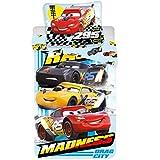 Disney Cars Madness - Funda nórdica, 140 x 200 cm, 60 x 80 cm, algodón