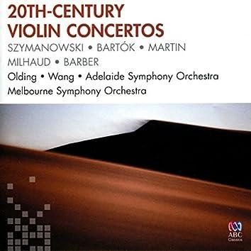 20th-Century Violin Concertos