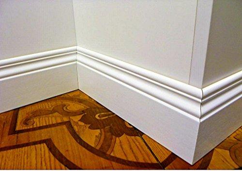 battiscopa in legno sagomato inglese ducale mm100 (prezzo per metro lineare, inserire nella casella i metri NON il numero di aste)