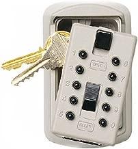 Ge Security/Supra Keysafe Slim Lock Box 1004 Key Cabinet, Assorted Colors