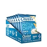 Quest Nutrition Quest Tortilla Chips, Ranch, 8/box 250 g