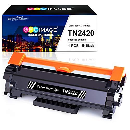 GPC Image TN2420 TN-2420 Toner Patronen Kompatible für TN2410 TN-2410 für Brother HL-L2350DW MFC-L2710DW DCP-L2510D L2530DW L2550DN HL-L2310D L2370DN L2375DW MFC-L2710DN L2730DW L2750DW, 3.000 Seiten