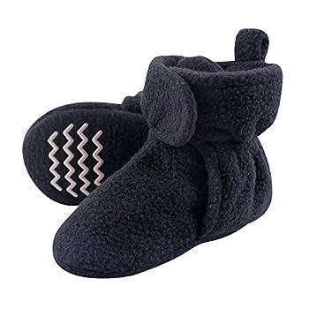 Hudson Baby Unisex Cozy Fleece Booties Navy 0-6 Months