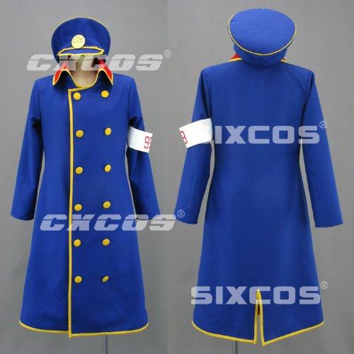 CXCOS eli0807 銀河鉄道999 車掌 風 コスプレ衣装