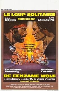 ArtFuzz Lone Wolf McQuade Movie Poster Print