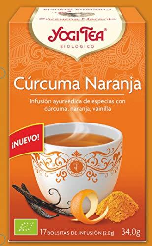 Yogi Tea Yogi tea curcuma naranja 17sob yogi tea 1 Unidad 500 g