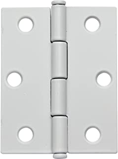 Flat Tipped Butt Hinge w/Removable Pin, 2