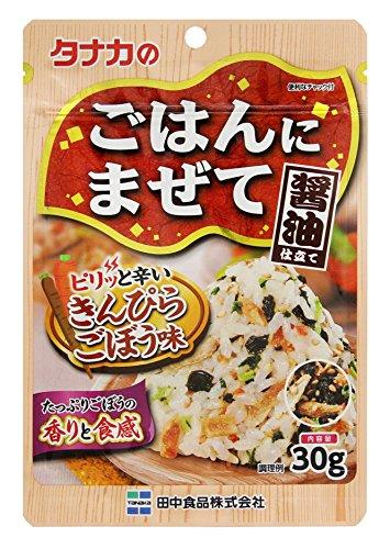 田中食品 ごはんにまぜて きんぴらごぼう味 袋30g