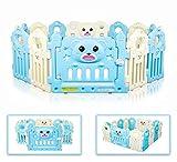 Besrey 3D Bear Box per Bambini Grande Sicurezza Barriera Recinto - 14 pannelli
