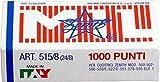 Zenith 515/8 Punti Metallici, 1 Confezione da 1000 Pezzi