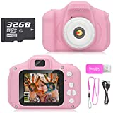 Hachi's Choice Gift Kids Camera Toys for 3-9 Year Old Girls, Compact Cameras for Children,Best Birthday...