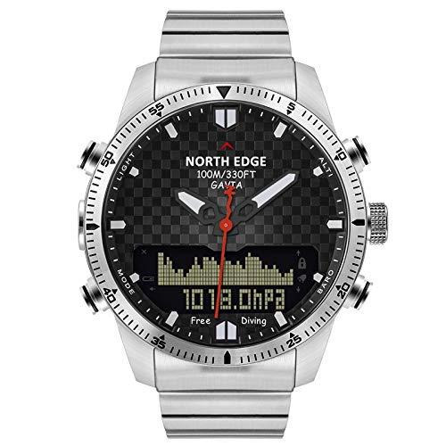 LBBL Hombres Deporte Al Aire Libre Impermeable Reloj Digital Inteligente Reloj Buceo...