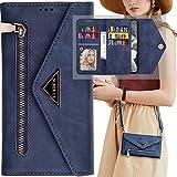 Crossbody Wallet Case for Samsung Galaxy S20 Ultra Women,Auker 9 Card Holder Folio Flip Leather Magnetic Wallet Case with Shoulder Strap Folding Kickstand Hidden Pocket Zipper Purse Clutch Handbag