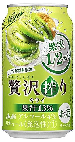 アサヒ 贅沢搾り キウイ(350ml×24本)×3箱