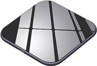 Te-Rich Cargador inalámbrico 15W Máximo Cargador Qi 10W para Galaxy S10/S10+/S10e/S9 Plus/S9/S8/Note 8,7.5W para iPhone X/XS/XS MAX/XR/8 Plus/8