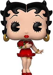 Funko Pop! Animation: Valentine Betty Boop Toy, Multicolor