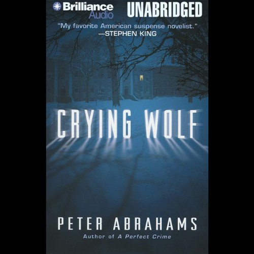 Crying Wolf audiobook cover art