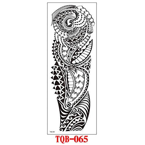 tzxdbh Tatuaggio di Braccio A Manica Completa, Drago Orientale, Fiori di Loto, Uomo, Tatuaggi Donna -in da TQB065