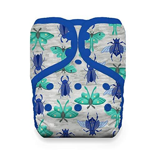 Thirsties Reusable Cloth Diaper, One Size Pocket Diaper, Snap Closure, Arthropoda