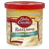 Betty Crocker Rich & Creamy - Cream Cheese Frosting (453g)