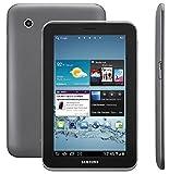 Samsung Galaxy Tab 2 P3100 3G+WIFI Tablet (17,8 cm (7 Zoll) Display, 1GHz Prozessor, 1GB RAM, 8 GB Speicher, 3,2 Megapixel Kamera, Android) titanium-silber