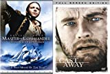 Master  Commander & Cast Away (DVD, 2004, Side-by-Side Packaging)